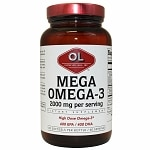 Olympian Labs Mega Omega-3 Fish Oils 2000mg