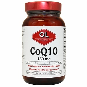 Olympian Labs Coenzyme Q10, Extra Strength 150mg- 60 capsules