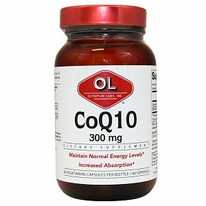 Olympian Labs Coenzyme Q10 300mg- 60 capsules