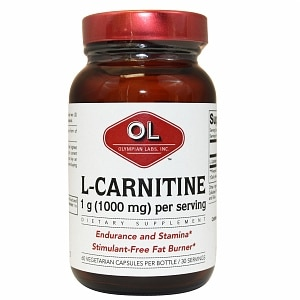 Olympian Labs L-Carnitine, 60 capsules