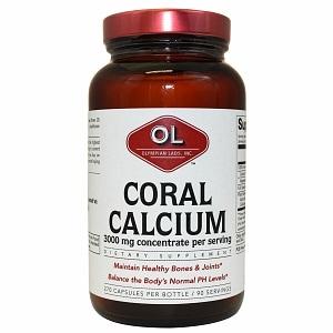 Olympian Labs Coral Calcium, 270 capsules