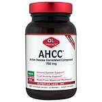 Olympian Labs AHCC 750mg Capsules