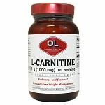 Olympian Labs L-Carnitine Fumarate, Super Size- 100 capsules