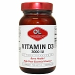Olympian Labs Vitamin D3 3000 IU