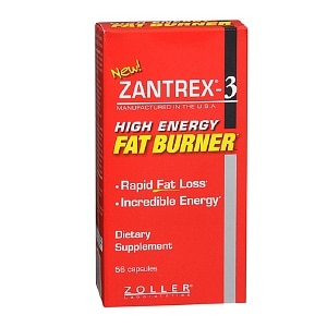 Zantrex-3 High Energy Fat Burner, 56 capsules