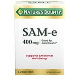 Nature's Bounty SAM-e 400mg, Super Strength, Tablets- 30 ea