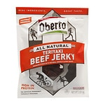 Oberto All Natural Beef Jerky, Teriyaki- 3.25 oz