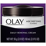 Olay Age Defying Classic Daily Renewal Cream Face Moisturizer- 2 oz