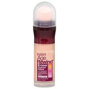 Maybelline Instant Age Rewind Eraser Treatment Makeup, Pure Beige- .68 fl oz