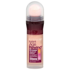 Maybelline Instant Age Rewind Eraser Treatment Makeup, Medium Beige- .68 fl oz