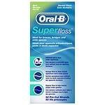 Oral-B Super Floss, Dental Floss, Mint- 50 ea