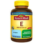 Nature Made Vitamin E, 400 IU, Softgels