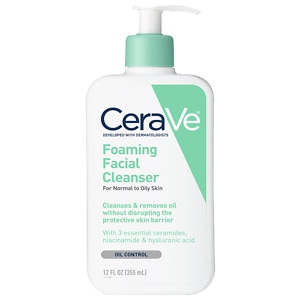 CeraVe Cleanser, Foaming Facial