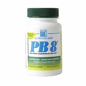 Nutrition Now PB 8, Probiotic Acidophilus, Vegetarian- 60 capsules