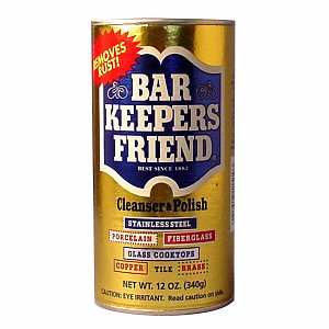 Bar Keeper's Friend Cleanser & Polish for Stainless Steel- 12 oz