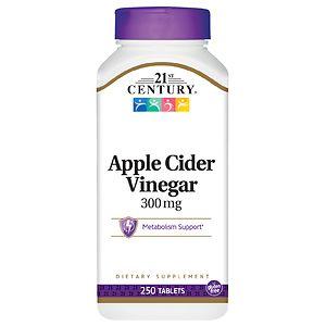 21st Century Apple Cider Vinegar 300mg- 250 tablets