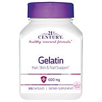 21st Century Gelatin 600mg, Beauty Capsules