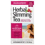 21st Century Herbal Slimming Tea, Cranraspberry, 24 pk- .06 oz