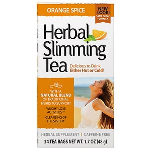 21st Century Herbal Slimming Tea, 24 pk, Orange Spice