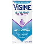 Visine Tired Eye Relief Lubricant Eye Drops- .5 fl oz