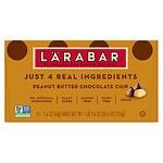 Larabar Fruit and Nut Food Bar, Peanut Butter Chocolate Chip, 16