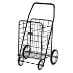Narita Trading Company Jumbo Shopping Cart, Black- 1 ea