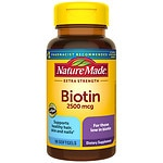 Nature Made Biotin, 2500mcg, Liquid Softgels- 90 ea