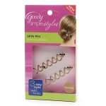 Goody Simple Styles Spin Pin, Colors May Vary- 1 pair
