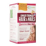 Applied Nutrition Longer Stronger Hair & Nails, Liquid