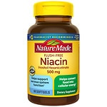 Nature Made Flush-Free Niacin, 500mg, Liquid Softgels- 60 ea