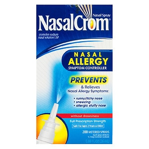 NasalCrom Nasal Allergy Symptom Controller Spray Without Drowsiness- .88 fl oz
