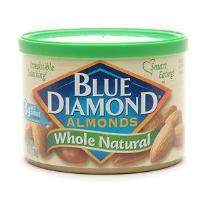 Blue Diamond Almonds, Can, Whole Natural- 6 oz