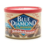Blue Diamond Almonds, Can, Smokehouse- 6 oz