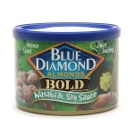 Blue Diamond Bold Almonds, Can, Wasabi & Soy Sauce- 6 oz