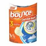 Bounce Dryer Bar Fabric Softener 3 Month Bar, Fresh Linen- 1 ea