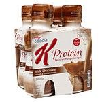 Special K Protein Shakes, Milk Chocolate, 4 pk- 10 oz