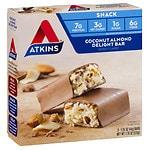 Atkins Advantage Snack Bars, 5 pk, Coconut Almond Delight