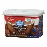 Maxwell House International Cafe Style Beverage Mix, Sugar Free, Swiss Mocha Cafe- 4.1 oz