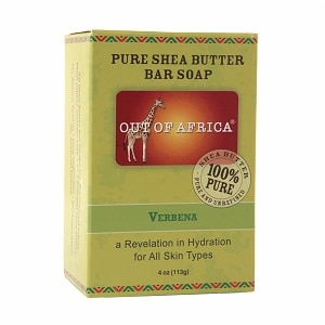 Out Of Africa Pure Shea Butter Bar Soap, Verbena&nbsp;