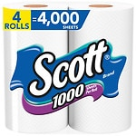 Scott 1000 Bath Tissue- 4 ea