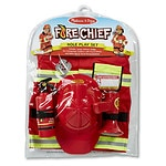 Melissa and Doug Fire Chief Deluxe Role Play Set Ages 3 and up