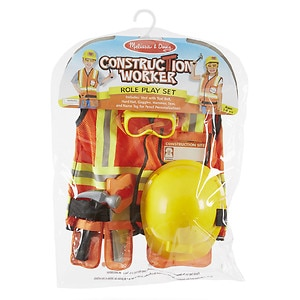 Melissa and Doug Construction Worker Deluxe Role Play Set Ages 3 and up, 1 ea