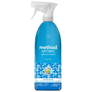 method ANTIBAC, Antibacterial Bathroom Cleaner, Spearmint