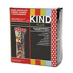 KIND Plus Nutrition Bars, Dark Chocolate Cherry Cashew + Antioxidants, 12 pk- 1.4 oz