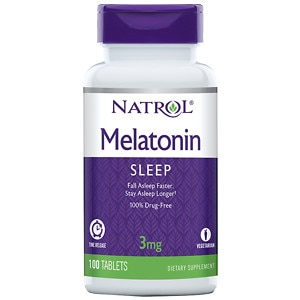 Natrol Melatonin Timed Release, 3mg Tablets- 100 ea