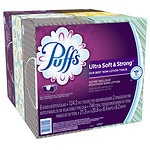 Puffs Ultra Soft & Strong Facial Tissues, 6 pk