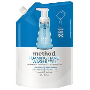 method Foaming Hand Wash Refill, Sea Minerals- 28 fl oz
