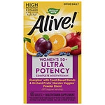 Nature's Way Alive! Once Daily Women's 50+ Ultra Potency Multivitamin, Tablets- 60 ea