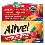 Nature's Way Alive! Energy 50+ Multivitamin, Tablets- 60 ea