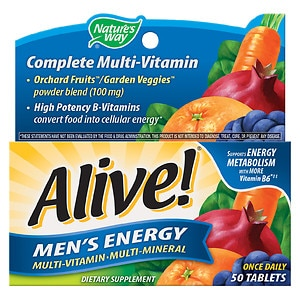 Nature's Way Alive! Men's Energy Multivitamin, Tablets- 50 ea